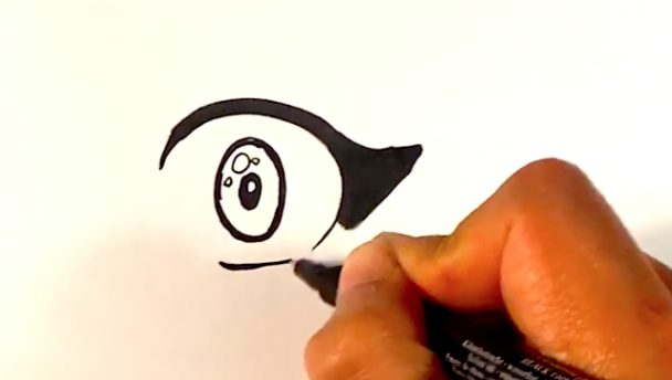 Your anime eye is coming together!