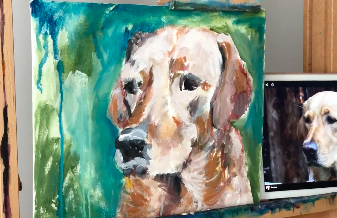 Animals are beloved painting subjects.