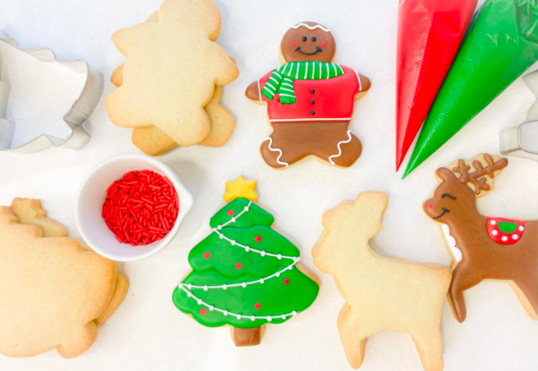 Whether you eat them yourselves or gift to a friend, holiday cookies are always a hit!