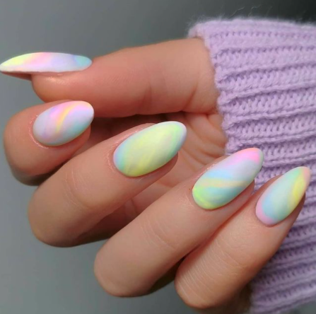Image via  Instagram    The perfect manicure to help get you ready for summer!