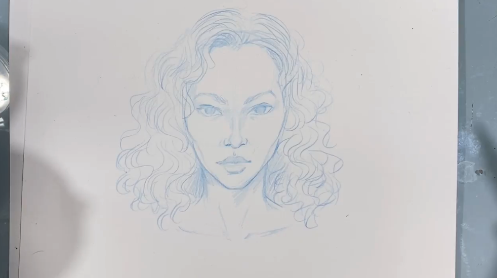 Not all face drawings need to be completely realistic. Experiment and have fun!