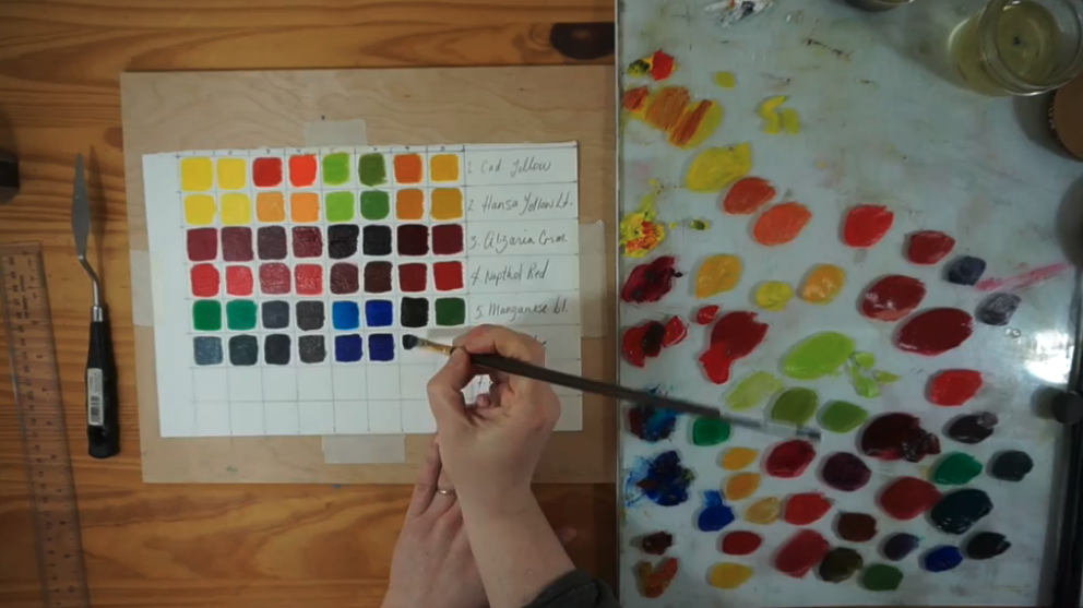 Oil paints are harder to use but produce beautiful results. Skillshare instructor Adele McFarlane Wile demonstrates how to blend and mix these paints effectively.