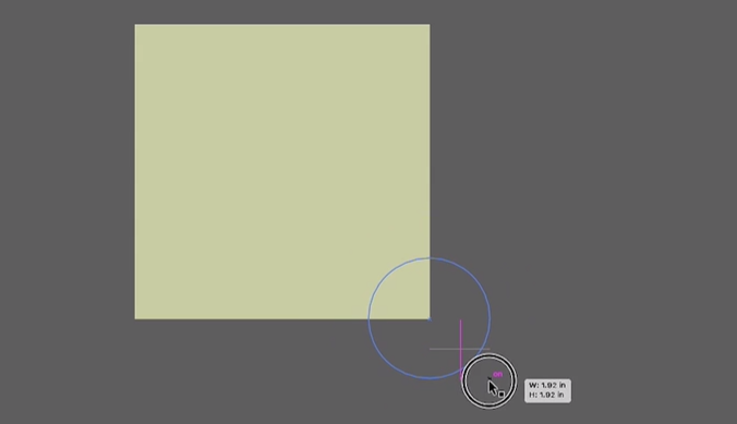 option + shift + click and drag to draw shape from cetner out