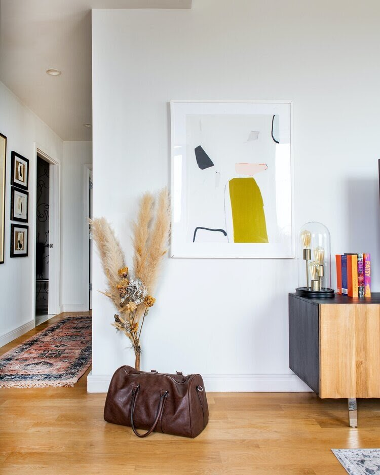 A talented interior designer like Chanae Richards can make even a hallway space look magical.
