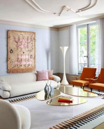 This Parisian flat is just one gorgeous example of Nicole Fuller's work.