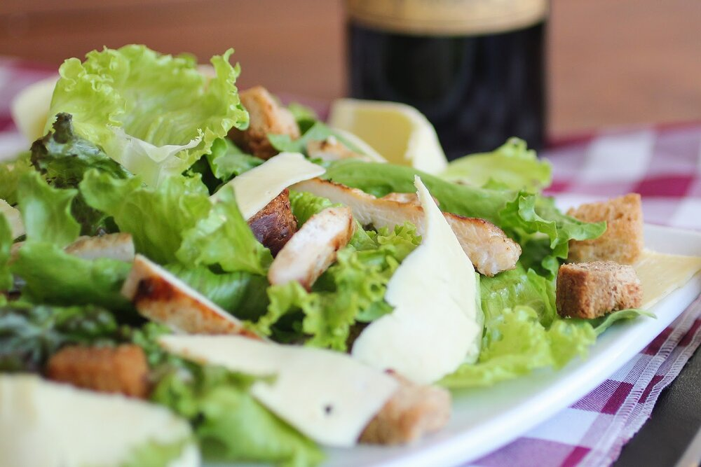 Caesar salad is a classic that's easy to make at home.