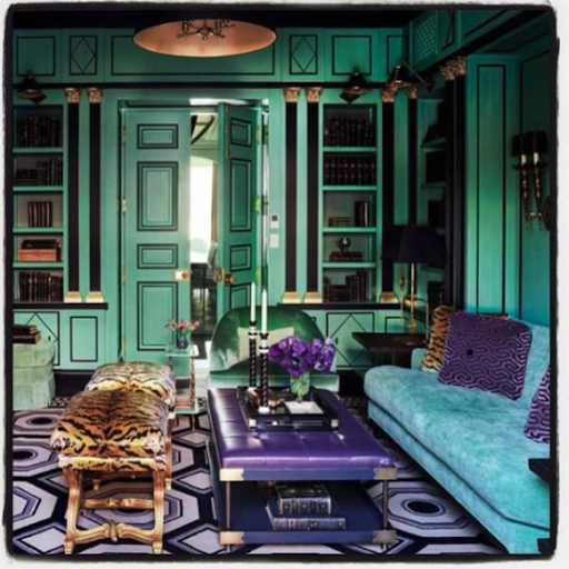 While this glamorous space might be difficult to replicate exactly in your own home, it can still make for great inspo.