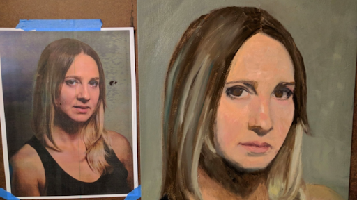 Portrait painting is a great way to improve your skills.
