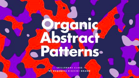 Creating organic abstract patterns