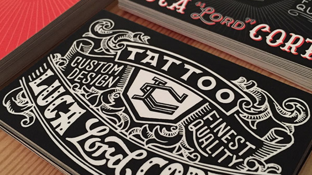 Student work by Reiko Hirata for  Vintage Hand-Lettering: Styling Phrases for Timeless Appeal