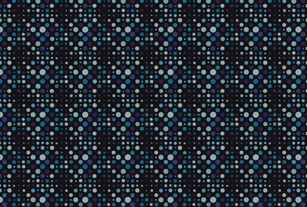 Student work by Aibhne Paton for  Circle Patterns - Step by Step Seamless Repeat Patterns - A Photoshop for Lunch Class
