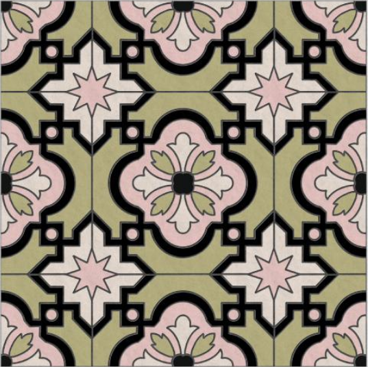 Tile and mosaic patterns are often examples of tessellating patterns.