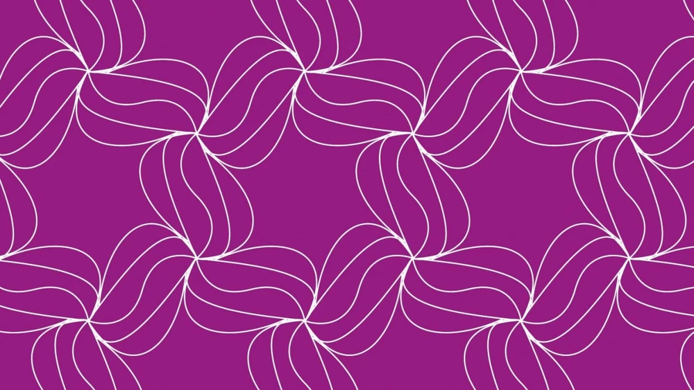 Student work by Ana Carmen Modrego Lacal for  How to Make Super Easy Tessellating Patterns in Illustrator + Free Templates
