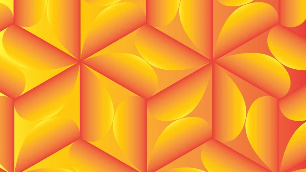 Student work by Jane O'Leary for  How to Make Super Easy Tessellating Patterns in Illustrator + Free Templates