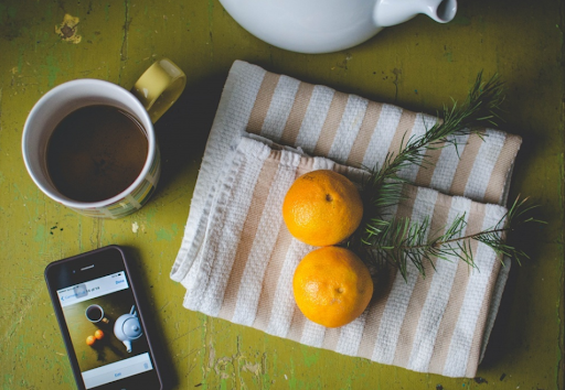 Photograph of an afternoon tea from Skillshare student Lindsay Crandall.