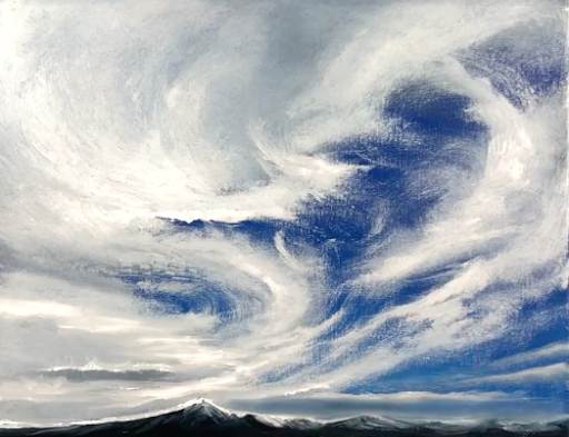 The mountains might be beautiful, but the sky takes center stage!
