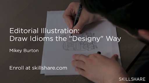 Skillshare instructor Mikey Burton walks you through how to design for magazines and newspapers from sketch to completed digital graphic.